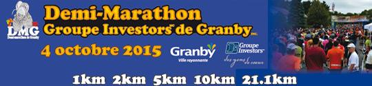 Venez fêter la course à pied au DMG le 4 octobre prochain!