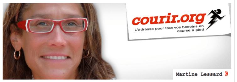Petit plaisir de la course par Martine Lessard